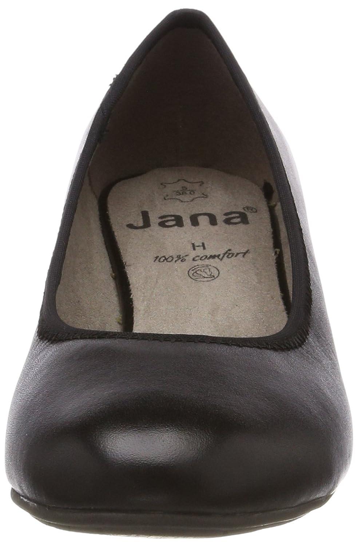 Jana 22303 Damen 22303 Jana Pumps Schwarz (schwarz Nappa) ddf184