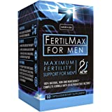 Actif Organic Fertilmax for Men - Maximum Sperm Support - Non-GMO, Made in USA, 60 count