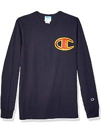 Champion Mens Heritage Long Sleeve Tee T-Shirt