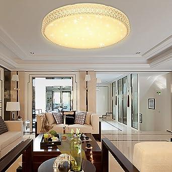 Hervorragend VINGO 60W LED Kristall Deckenleuchte Sternenhimmel Warmweiß Starlight Eckig  Deckenbeleuchtung Wohnzimmer Deckenlampe Korridor Schlafzimmer Schönes 6000K