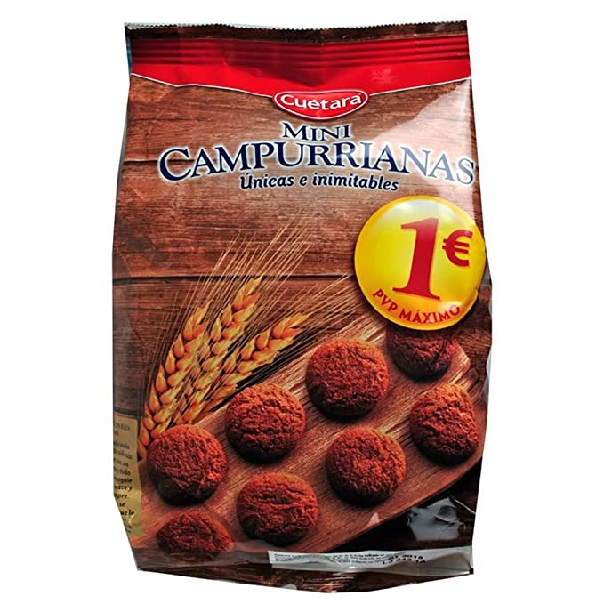 Cuètara - Mini Campurrianas - Galletas - 300 g