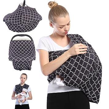 amazon com nursing breastfeeding cover scarf baby car seat cover