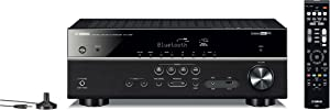 Yamaha RX-V485BL 5.1-Channel 4K Ultra HD AV Receiver with MusicCast - Black