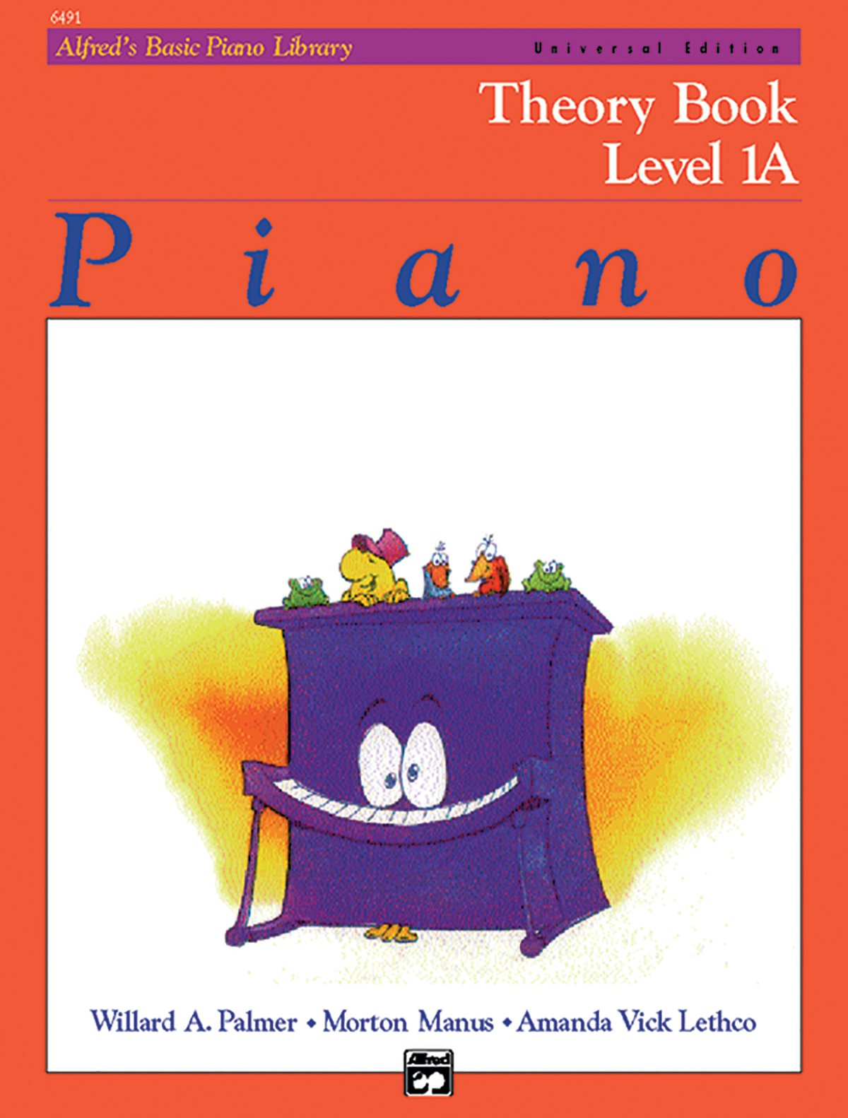 Alfred's Basic Piano Course: Theory Book, Level 1A