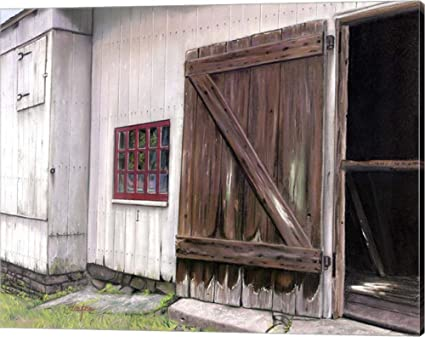 Genial Old Barn Door By Thomas Linker Canvas Art Wall Picture, Gallery Wrap, 20 X