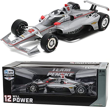 1:64 Hot Wheels Indy Car Series No.12 Will Power with Real Rider