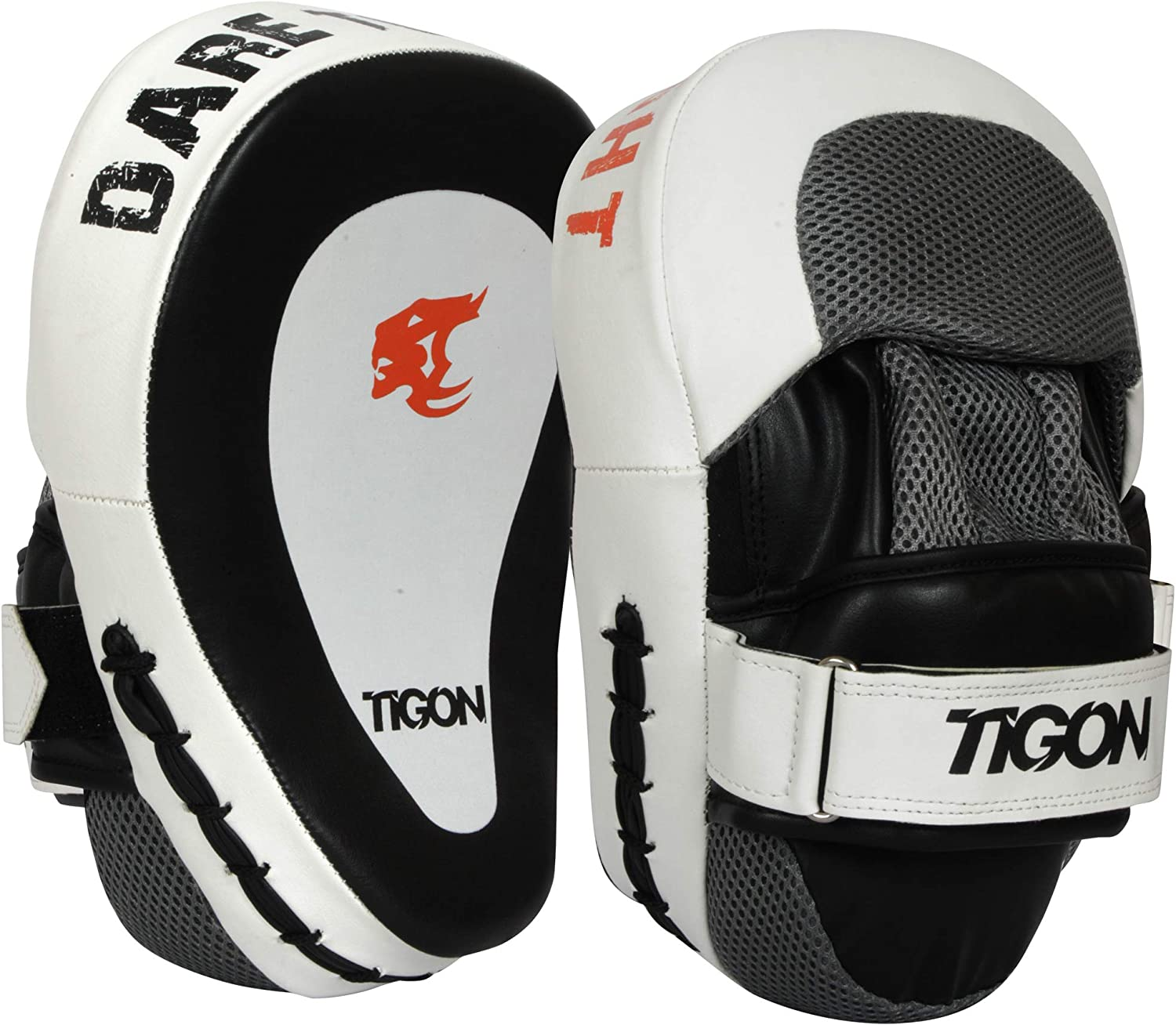 Curved Thai Pads Mitts Hook and Jab Punching Kick Boxing Muay Thai MMA