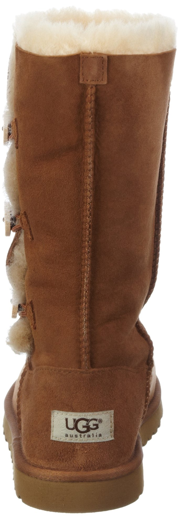 Kid's UGG Bailey Button Triplet chestnut size 4 us by UGG (Image #2)