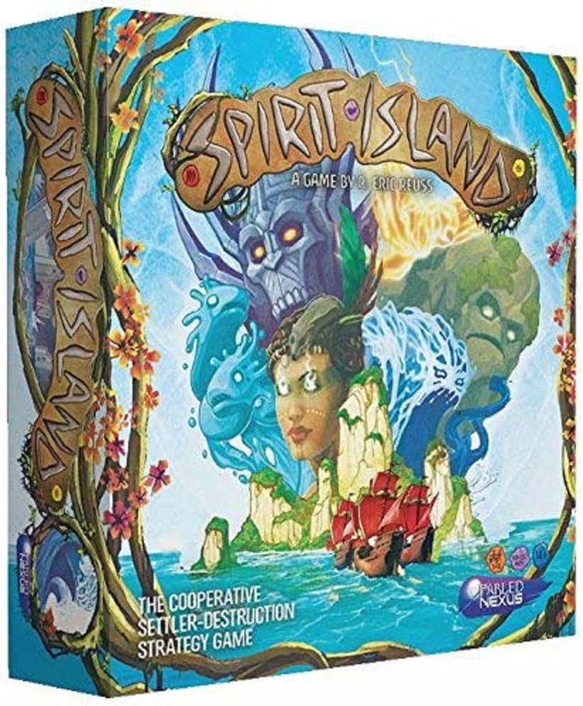 Greater Than Games Juego de Mesa Spirit Island Core: Amazon.es ...