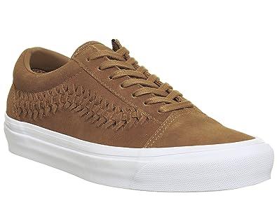 vans old skool basse beige