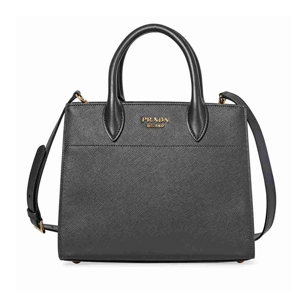 79ce80015e6f Prada women s handbag cross-body messenger bag purse black  Amazon.co.uk   Shoes   Bags