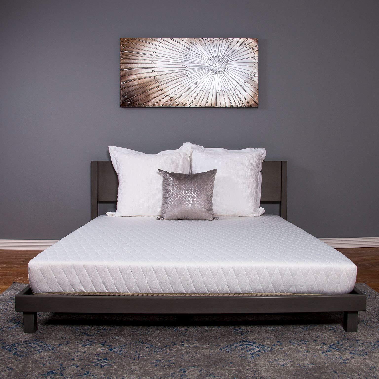 Dreamfoam Bedding Chill 6'' Gel Memory Foam Mattress, Twin- Made in The USA