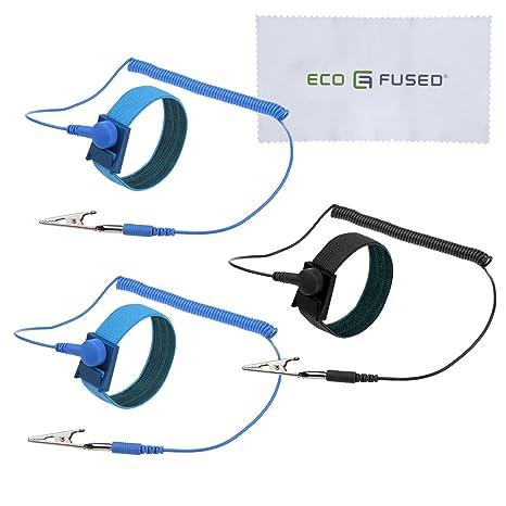 antistatische armbänder 3 er pack wiederverwendbare antistatische armbänder mit erdungskabel und krokodilklemme ermöglicht ihnen, sich während  manschette armb%c3%a4nder c 33_39 #9