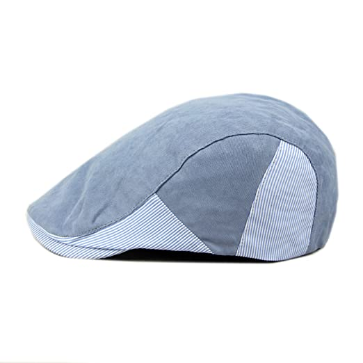 61b1f05b9d5 ArmoFit Cotton Flat Newsboy Cap Gatsby Ivy Scally Hat Casual Retro Spring  Summer Fall for Men