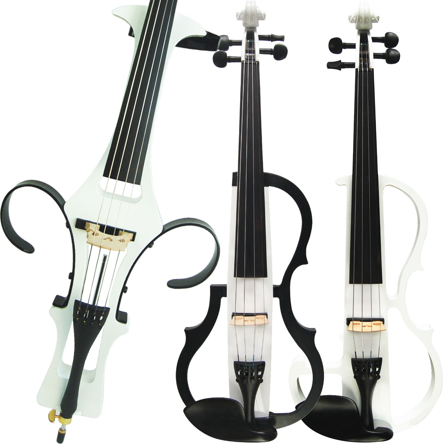 Aliyes Handmade Professional Solid Wood Electric Cello 4/4 Full Size Silent Electric Cello-1801 by Aliyes