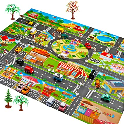 Home, Furniture & DIY Children Kids Mat Rug Carpet Fun