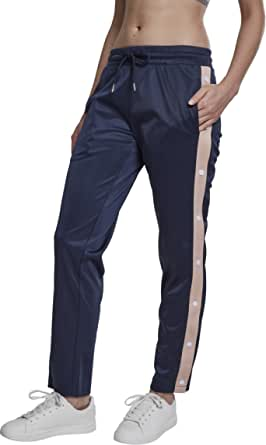 Urban Classics Women's Ladies Button Up Track Pants