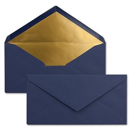 Blau Briefumschlag Kuvert Briefkuvert Umschlag Briefumschläge DIN-C6