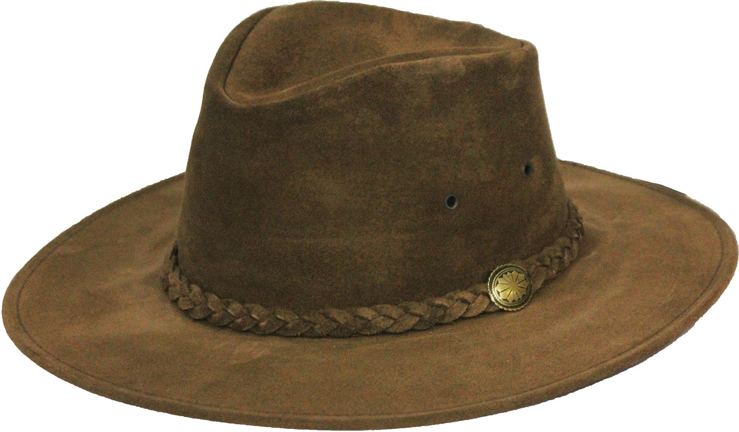 Henschel Men's Crusher Walker Hat, Brown, Large