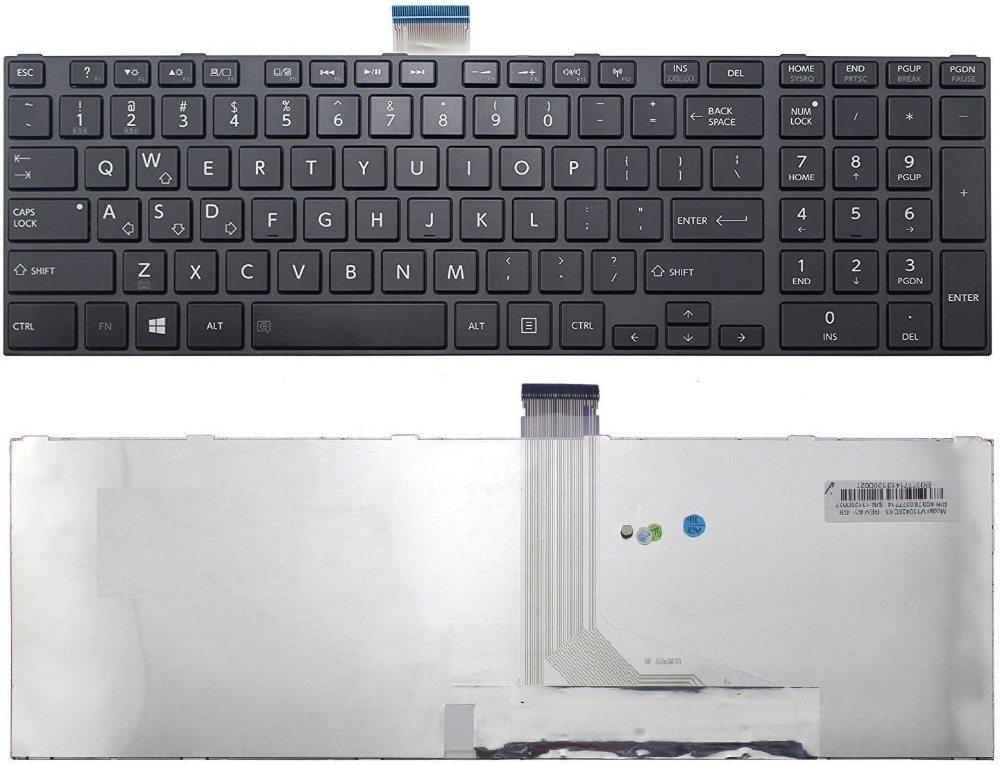 wangpeng New US Black keyboard for Toshiba Satellite L870 L870D L875 L875D