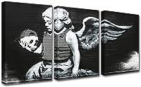 tableau tête de mort noir et blanc 1