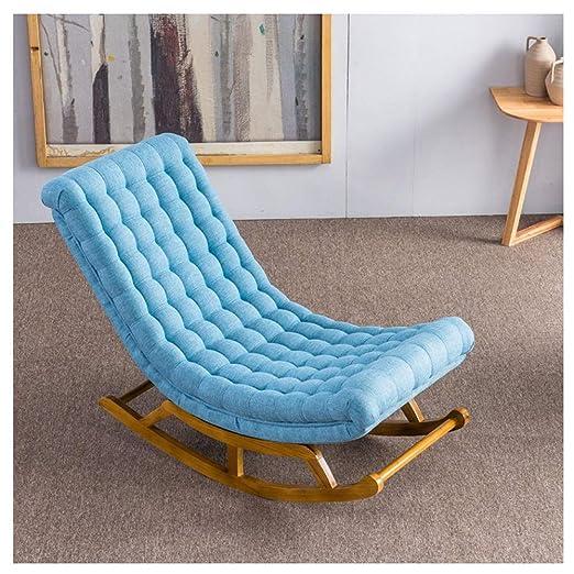 TongN-Sillones Lazy Couch Silla Mecedora Cómoda Simple ...