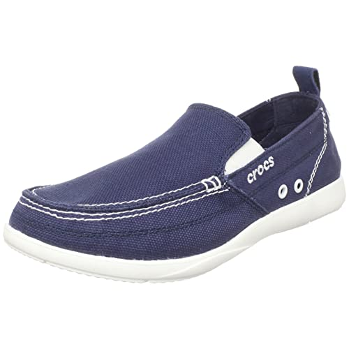 6e701acff24 crocs Men s Walu Canvas Loafers and Mocassins - M9  Buy Online at ...