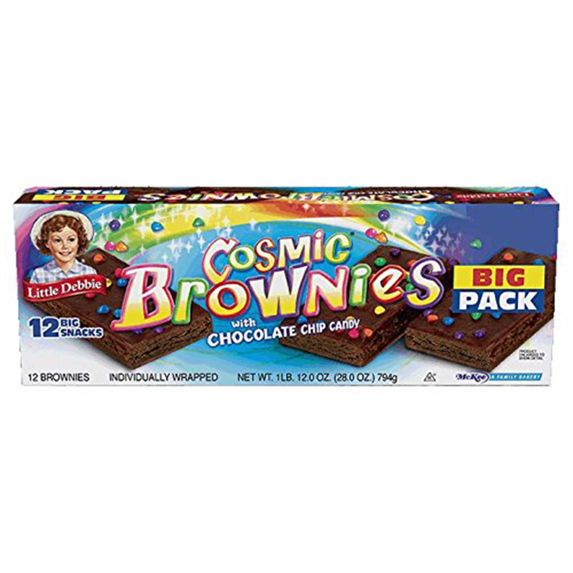 Little Debbie Cosmic Brownies Big Pack 28 Oz (3 Boxes) by Little Debbie