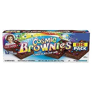 Little Debbie Cosmic Brownies, 12 in Box, 2 Box Pack by Little Debbie