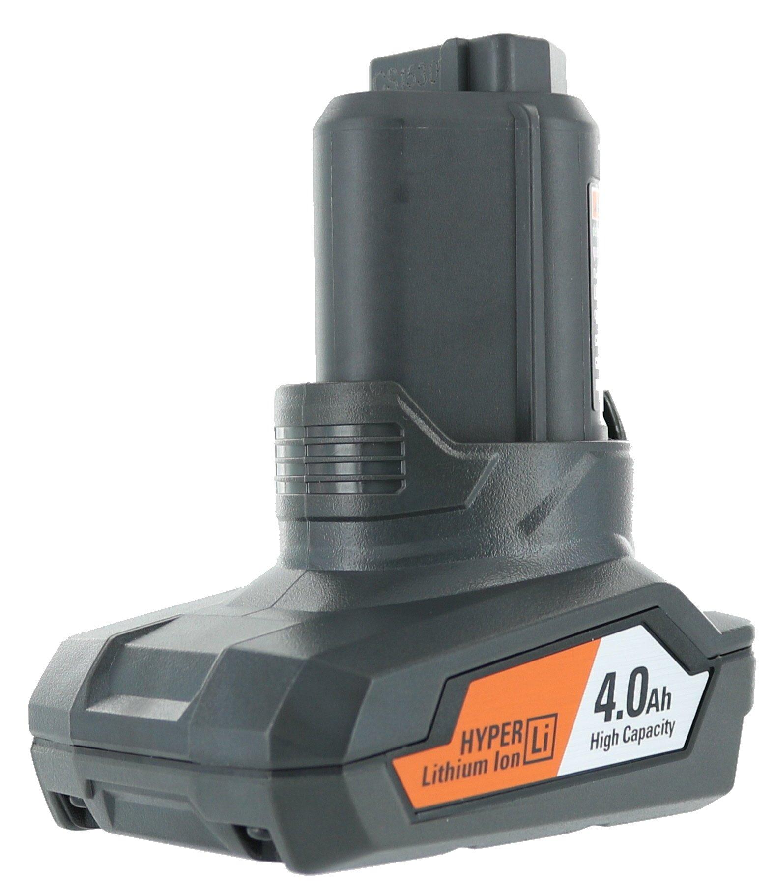 Ridgid R82059 Genuine OEM Hyper Lithium 4 Amp Hour 12 Volt Battery
