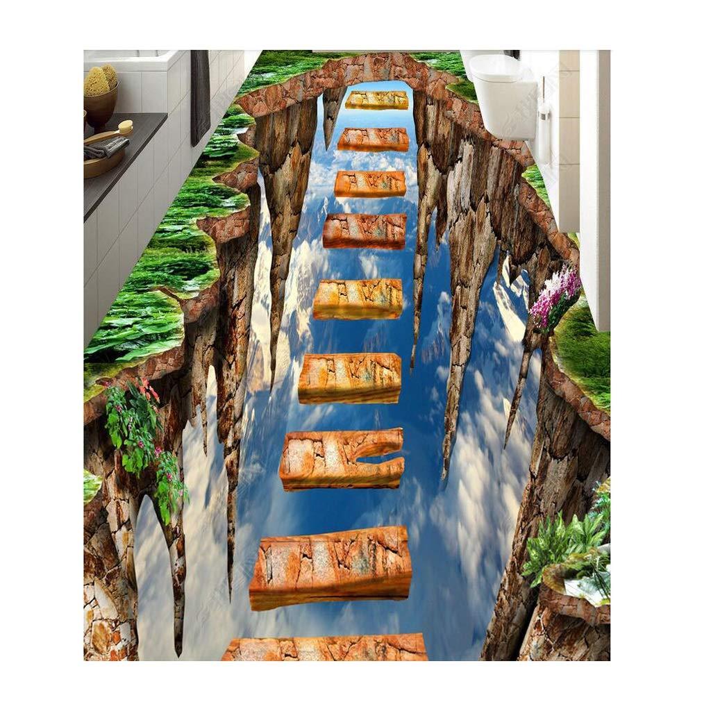 ラグカーペット3d立体感動の通路廊下階段カーペット滑り止めエリアラグコーヒーテーブルパッド用リビングルーム寝室6ミリメートル (Color : D, Size : 120x180cm) B07T7XHXKY D 120x180cm