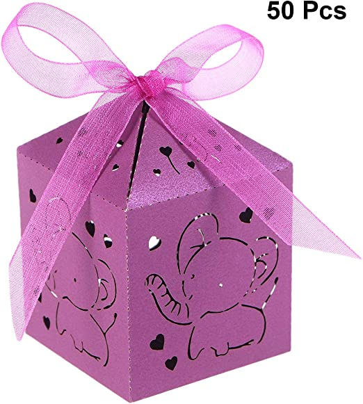 50 Personalised CUTE BABY Pink Blue Lilac Christening Shower FAVOUR CHOCOLATES