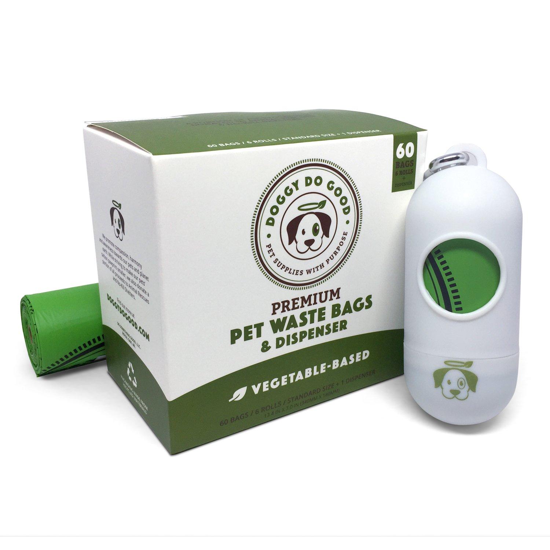 Biodegradable Poop Bags | Dog Waste Bags, Unscented, Vegetable-Based & Eco-