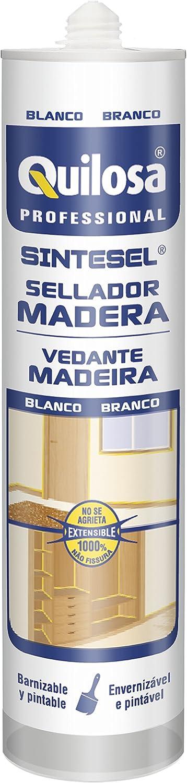 Quilosa T006775 Sellador en base acuosa para juntas de madera, Blanco: Amazon.es: Bricolaje y herramientas