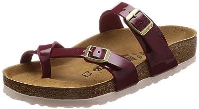 9cde8191b994d Birkenstock Unisex Mayari Birko-Flor Patent Sandals