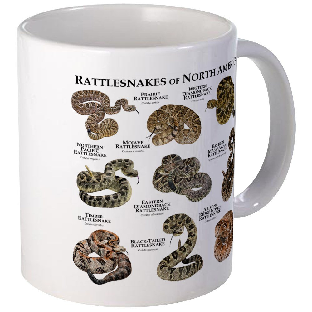 CafePress - Rattlesnakes Of North America Mug - Unique Coffee Mug, Coffee Cup