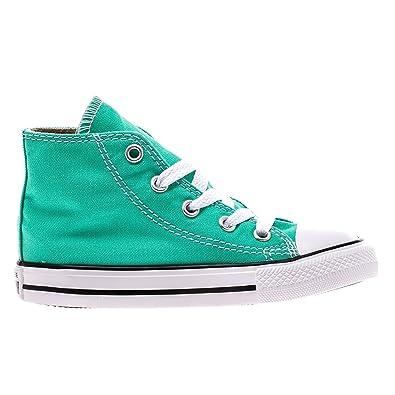 e88e88ad0c8 Converse Infants CTAS Hi Menta Canvas Trainers  Amazon.co.uk  Shoes ...