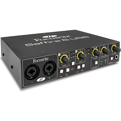 Amazon.com: Focusrite Saffire 6 Interfaz de audio USB ...