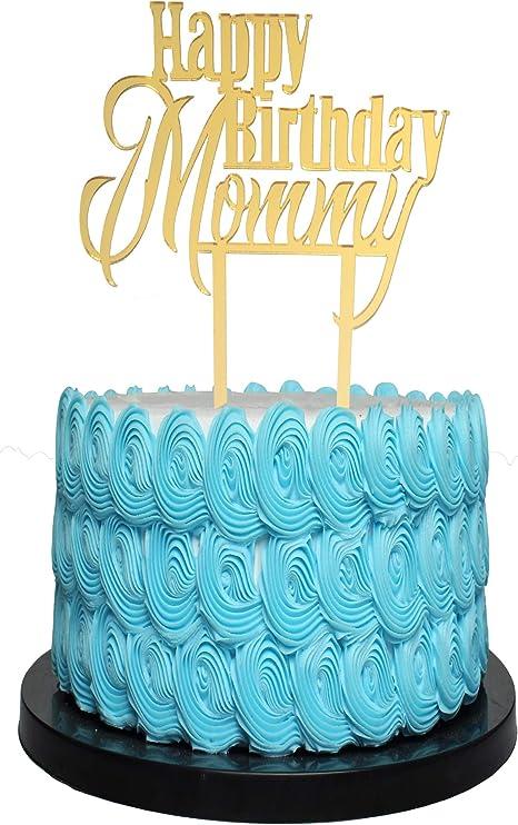 Best Mom Cake Topper