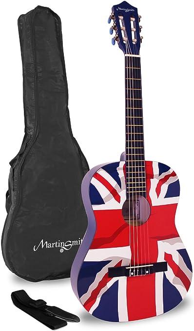 Martin Smith W-34-GB-PK - Paquete de guitarra acústica con cuerdas ...