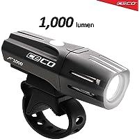 CECO-USA: 1,000 Lumen USB Rechargeable Bike Light – Tough & Durable IP67 Waterproof & FL-1 Impact Resistant– Super…