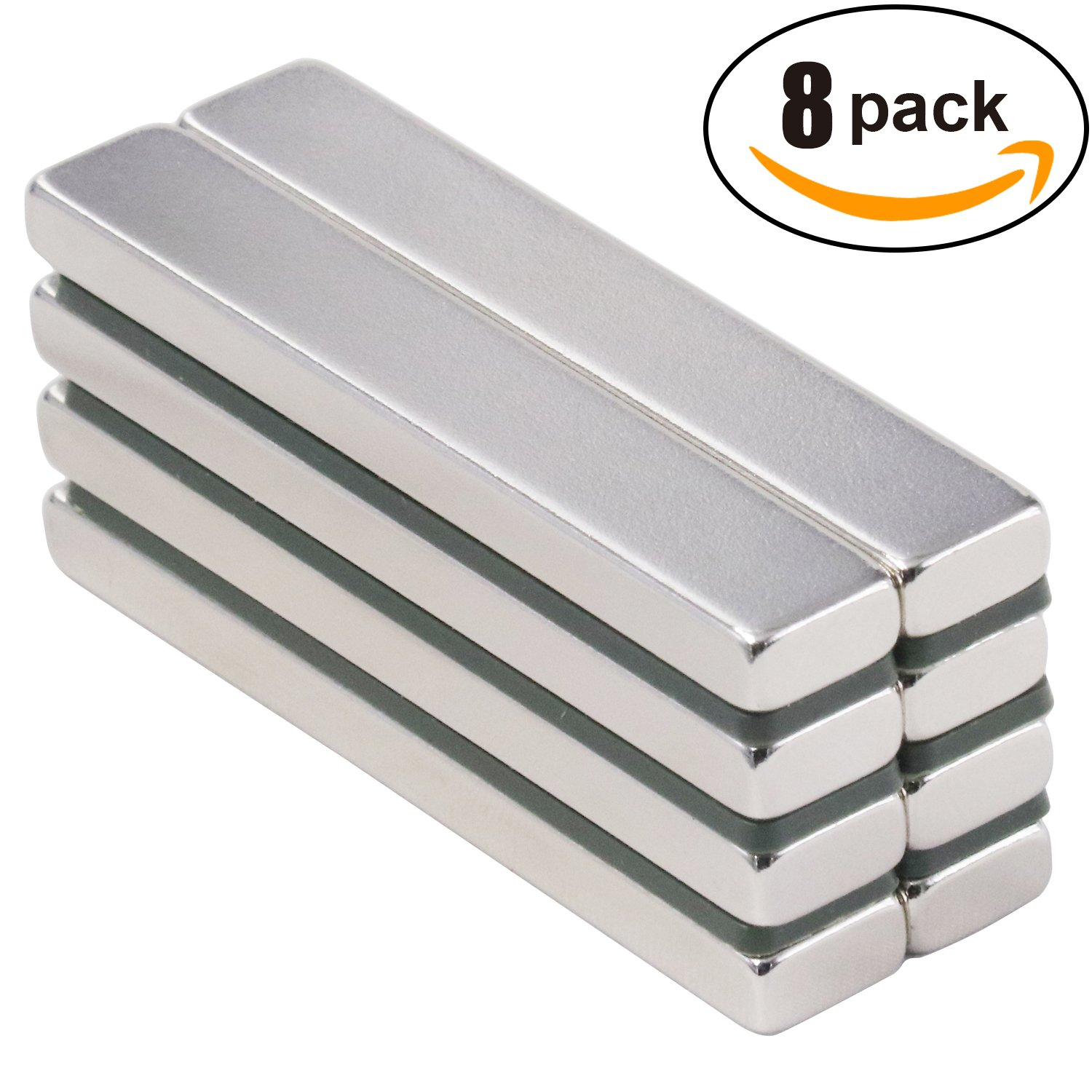 Pull Rare Earth Magnets Strong Neodymium Bar Super Permanent Metal Rectangular