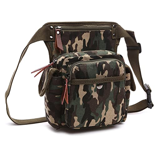 MeCooler Bolsa de Pierna Sport Bag Hombre Riñonera Outdoor Bolso de Cintura Bolsas de Viaje Deporte Bolsos de Tela Carteras Gimnasio Movil: Amazon.es: ...