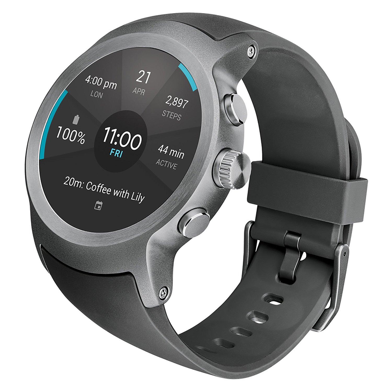 LG Watch Sport Unlocked GSM (Silver/Titan) by LG (Image #4)