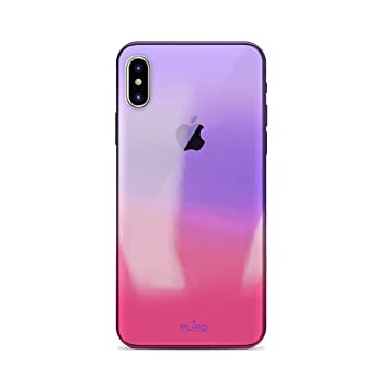 Puro Hologram - Carcasa para Apple iPhone X, Color Rosa ...
