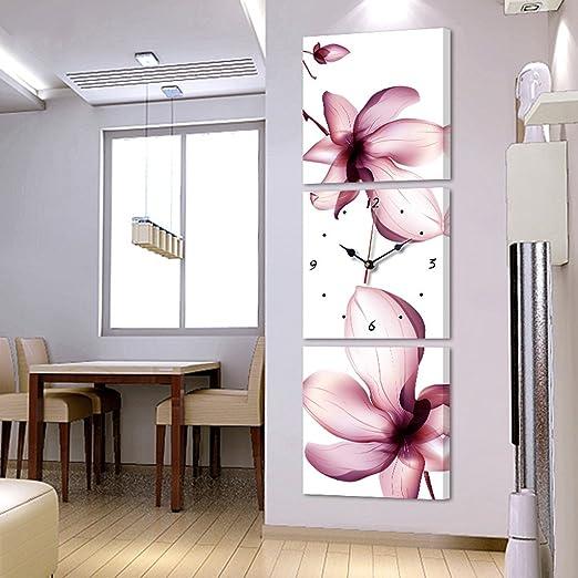 Sala de estar moderna Triple sin marco pinturas para colgar ...