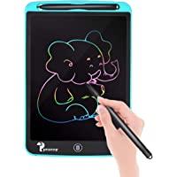 Proffisy Colourful Screen LCD Writing Tablet 8.5 Inch Color Line E-Writing Electronic Board and Scribble MeMO Notes with 2 Magnet for Kids and Adults at Home,School and Office Multicolor (Blue)