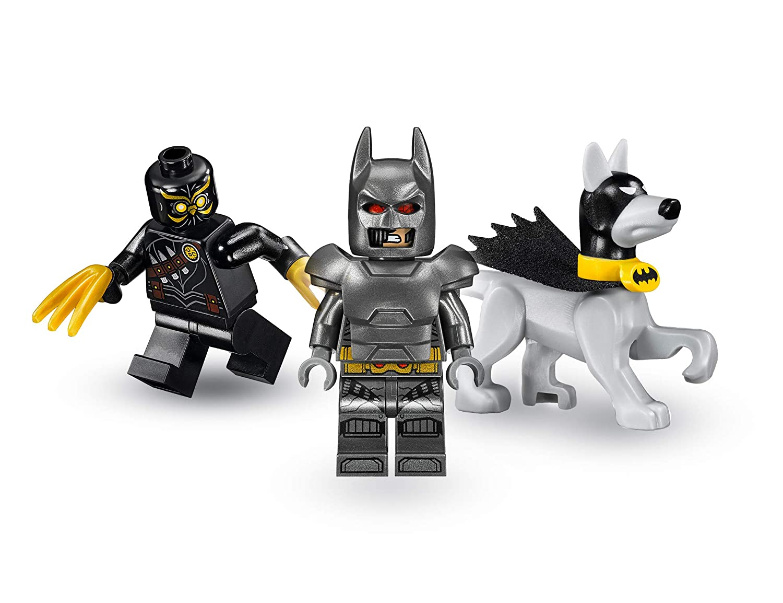 LEGO Super Heroes Batman: El ataque de los Talons, set de construcción del Caballero Oscuro, incluye figura de Ace the Bat-Hound, juguete para recrear ...