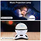 Moredig Night Light Projector Remote Control and