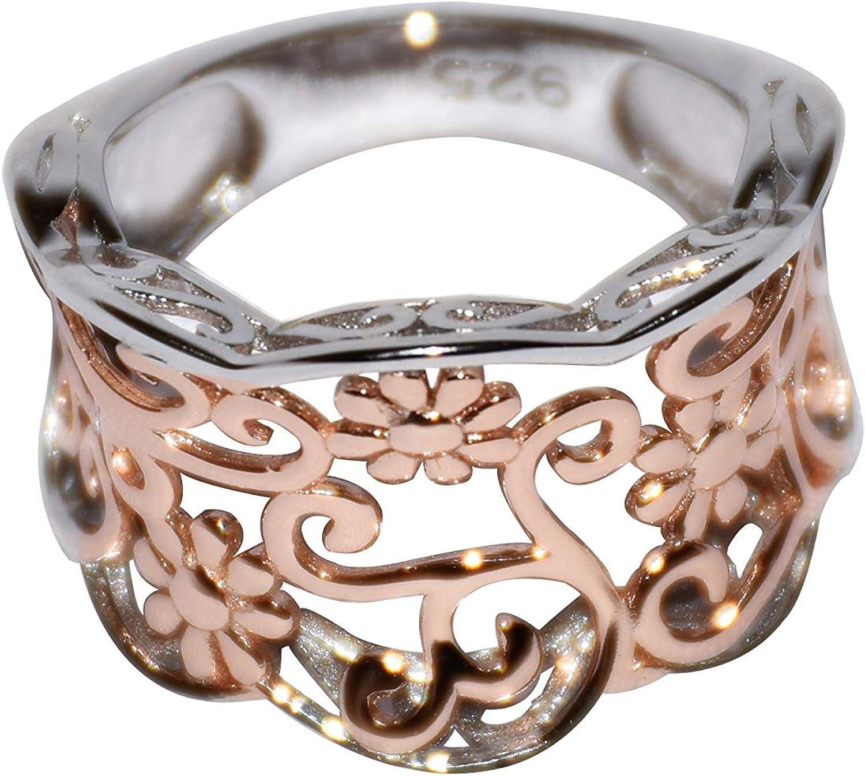 EVHjewelry.com Vine Ring Two-Tone